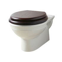 Wall-hung toilet / porcelain