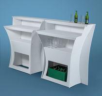 Bar counter / polypropylene / upright