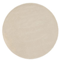 Contemporary rug / plain / wool / round