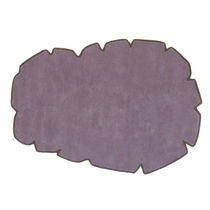 Contemporary rug / wool / plain / hand-tufted