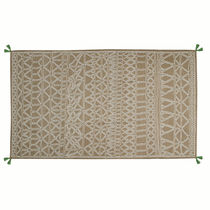 Contemporary rug / patterned / polyester / rectangular