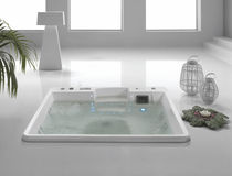 8 seater built-in hot-tub CHORA  AQUALIFE SRL