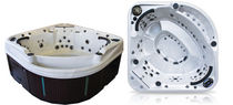 8 seater portable hot-tub CASCADE III PHANTOM COAST SPAS