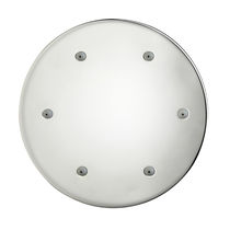 Wall-mounted shower head / ceiling-mounted / round