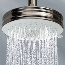 Ceiling-mounted shower head / wall-mounted / round