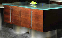 Glass countertop / kitchen / wear-resistant