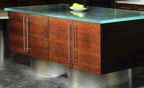 Glass countertop / kitchen / wear-resistant