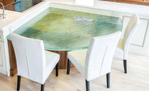 Glass table top / commercial