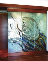 Decorative panel / construction / cover / separating