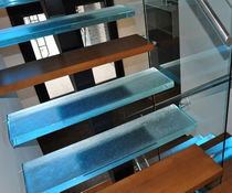 Straight staircase / quarter-turn / half-turn / glass steps
