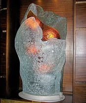 Glass sculpture / for public buildings
