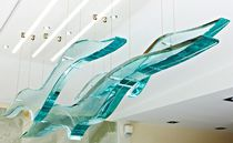 Glass sculpture / residential