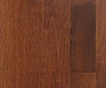 Solid wood flooring / nailed / maple / semi-gloss