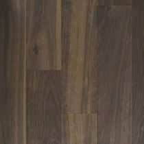 Solid wood flooring / nailed / birch / oiled