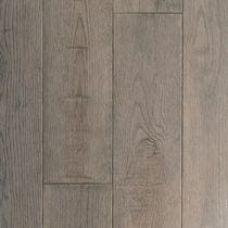 Solid wood flooring / nailed / oak / stained