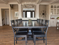Solid wood flooring / nailed / maple / oiled