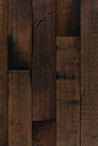 Engineered wood flooring / nailed / maple / stained