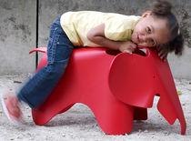 Contemporary stool / plastic / child's unisex / outdoor