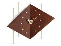 Contemporary clock / analog / desk / cast iron