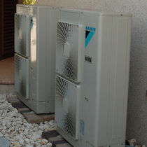 Air source heat pump / residential / commercial / outdoor
