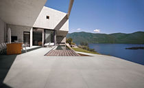 Outdoor tile / for floors / porcelain stoneware / matte
