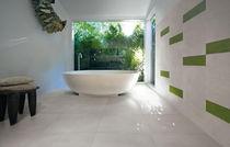 Bathroom tile / indoor / floor / porcelain stoneware