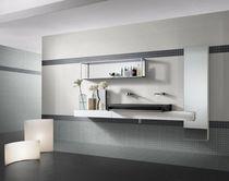 Bathroom tile / indoor / floor / ceramic