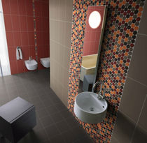 Indoor mosaic / for bathrooms / wall-mounted / ceramic