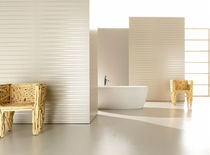 Indoor tile / for bathrooms / wall-mounted / porcelain stoneware