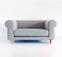 Traditional armchair / linen