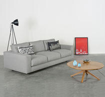 Contemporary sofa / fabric / 3-seater