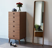 Contemporary chiffonier / solid wood / oak / walnut
