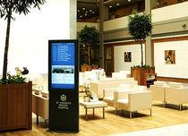 Electronic display totem