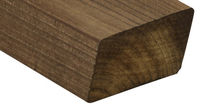 Hardwood cladding / smooth / strip / FSC-certified