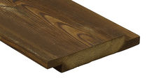Hardwood cladding / smooth / strip / durable