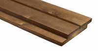 Hardwood cladding / smooth / panel / FSC-certified