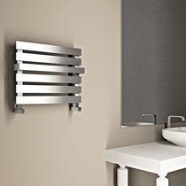 Hot water radiator / electric / horizontal / metal