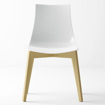 Contemporary chair / plastic