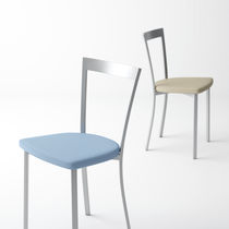 Contemporary chair / metal