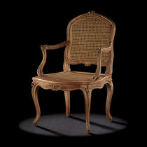 Louis XV style armchair / wooden