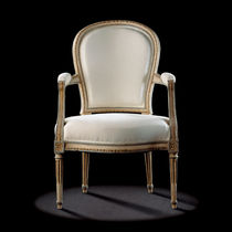 Louis XVI style armchair / wooden