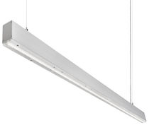 Hanging light fixture / surface-mounted / LED / linear