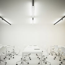 LED track light / fluorescent / linear / extruded aluminum