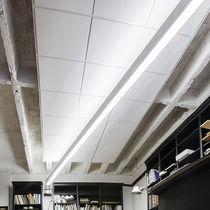 Hanging light fixture / fluorescent / LED / linear