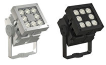 Surface mounted spotlight / outdoor / LED / halogen