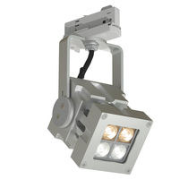 LED track light / square / solid aluminum / commercial