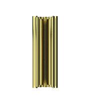 Contemporary wall light / brass / LED / handmade