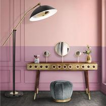 Floor-standing lamp / contemporary / aluminum / brass