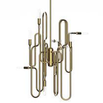 Pendant lamp / original design / metal