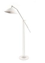 Floor-standing lamp / contemporary / metal
